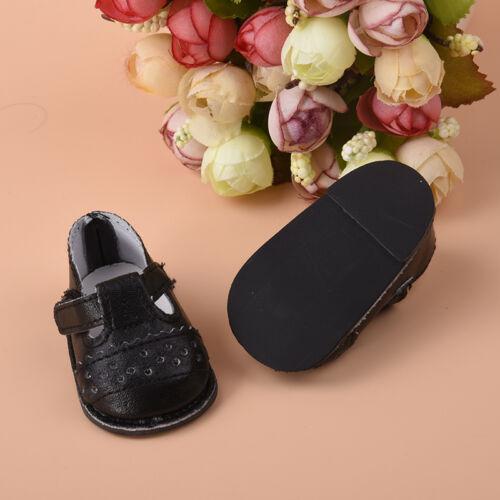 handmade fashion schwarze schuhe kleidung f r 16 zoll. Black Bedroom Furniture Sets. Home Design Ideas