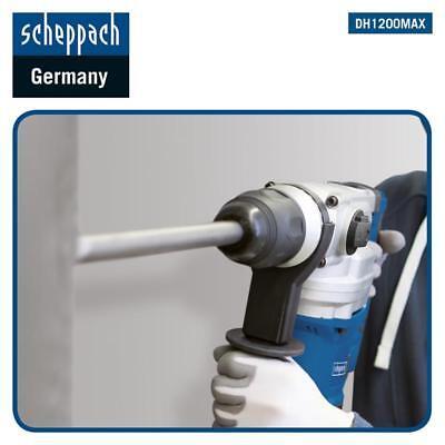 Scheppach Bohrhammer Schlaghammer DH1200MAX SDS-Max Set 1050W