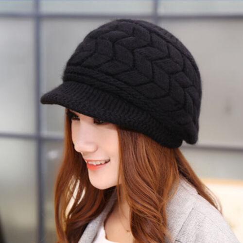 Fashion Women Ladies Winter Warm Cotton Crochet Slouch Baggy Ski Beanie Hat Caps