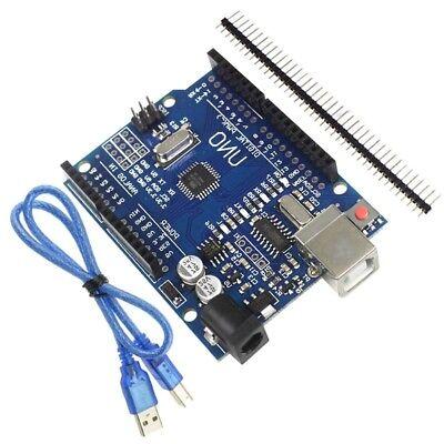 For Arduino UNO R3 ATmega328P CH340G Development Board  USB Cable 2