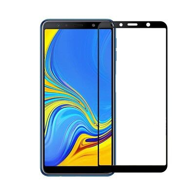 For Samsung Galaxy A7 2018 A750 3D Full Cover Tempered Glass Screen Protector 2