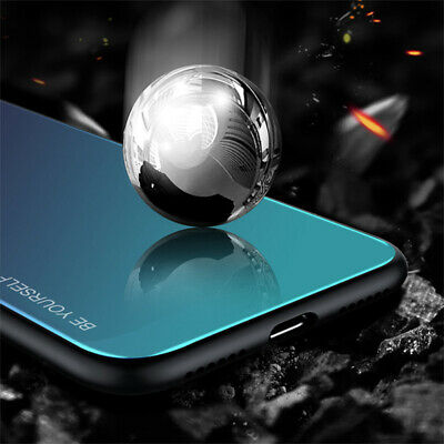 Tempered Glass Phone Case For Apple iPhone 11 Pro Max 6S 7 8 Plus X XS MAX XR 8