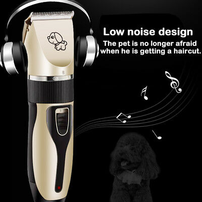 Rechargeable Cat Dog Clipper Cordless Pet Clippers Hair Shaver Grooming Trimmer 5