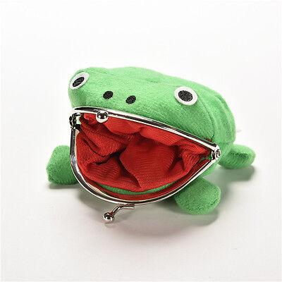 Uzumaki Naruto Frog Shape Cosplay Coin Purse Wallet Soft Furry Plush Gift PLUS 4