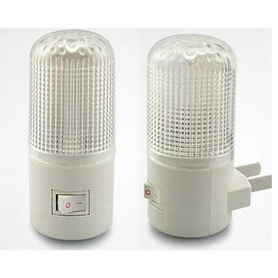 LED mur de sécurité Montage Chambre lampe veilleuse Prise ampoule d'éclair~PL 2