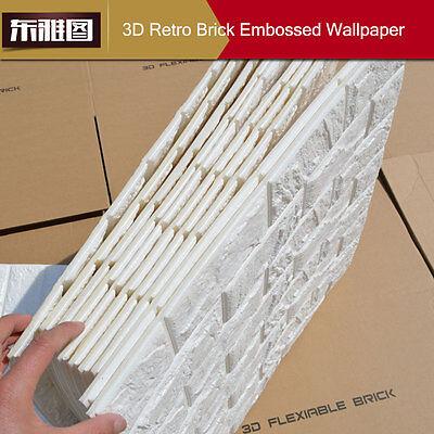 20 rollos 3d efecto piedra pared ladrillos papel pintado - Papel pintado efecto piedra ...