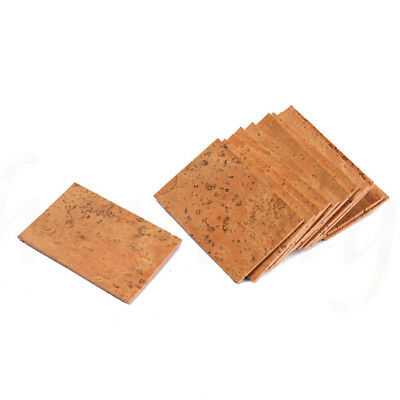 10pcs Professional Saxophone Clarinet Joint Pad Set Natural Neck Cork Sheet 9