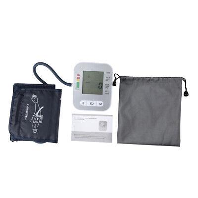 Accurate Full-automatic Upper Arm Blood Pressure Monitor BP Cuff Machine Gauge 12