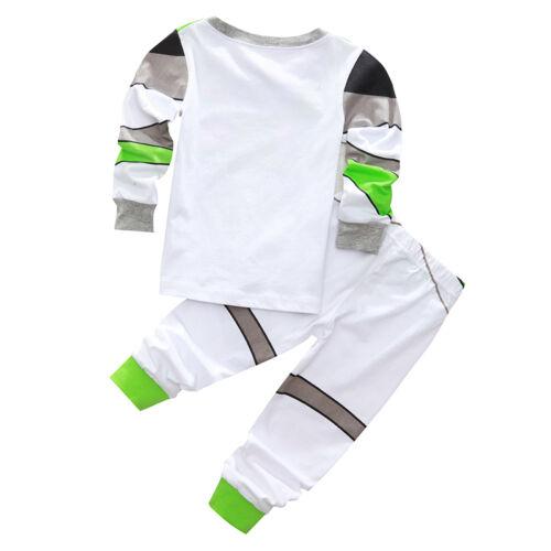 0fa071a7f85 Enfants Bébé Garçon Toy Story Déguisement Buzz L Éclair et Woody Pyjama  Tenues 8 8 sur 12 ...