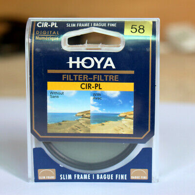 HOYA Camera SLIM CPL Filter 58mm 67mm 72mm 77mm 82mm Circular Polarizing CIR-PL 2