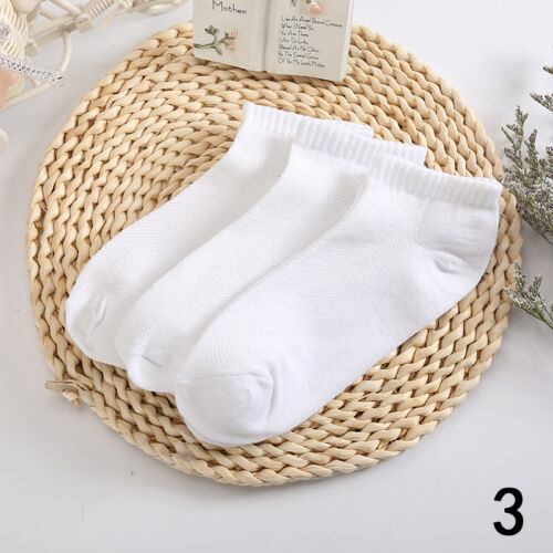 WHOLESAL! 5-12 Packs Ankle Socks Cotton Mens Womens Low Cut Dozen Stretch RR US 8