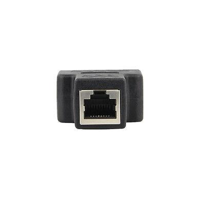 1 à 2 LAN Ethernet réseau RJ45 répartiteur prolongateur connecteur adaptateur~PL 4