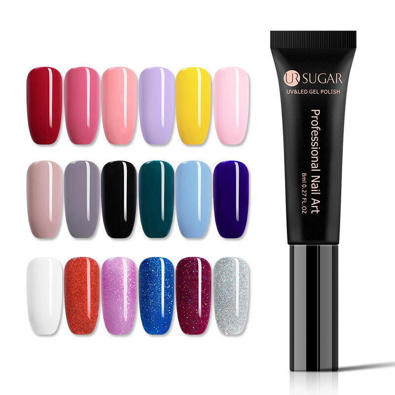 UR SUGAR 8ml Esmalte de Uña de Gel UV LED Semipermanente Soak off Manicura DIY 5