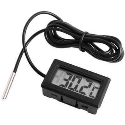 Termometro para Acuario o Congeladores con Sonda Digital Externa y Pantalla LCD