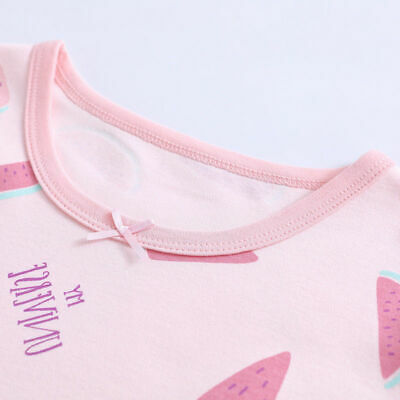 Girls Nightdress Nightie Pyjamas Cotton Long sleeve Nightwear Age 3-16 Years * 4