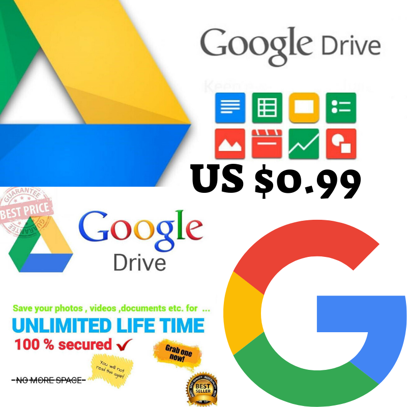 UNLIMITED GOOGLE Team DRIVE FOR YOUR EXISTING ACCOUNT get 1 gift 1 very fast new 2