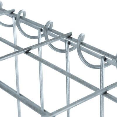 Gabionen Stein Korb Wand Draht 30 cm Rechteck Gitter Zaun Sichtschutz 1er 2er