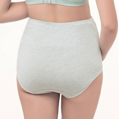 Pregnancy Maternity Underwear comfy Brief Panties Cotton Over Bump Support Tummy 9