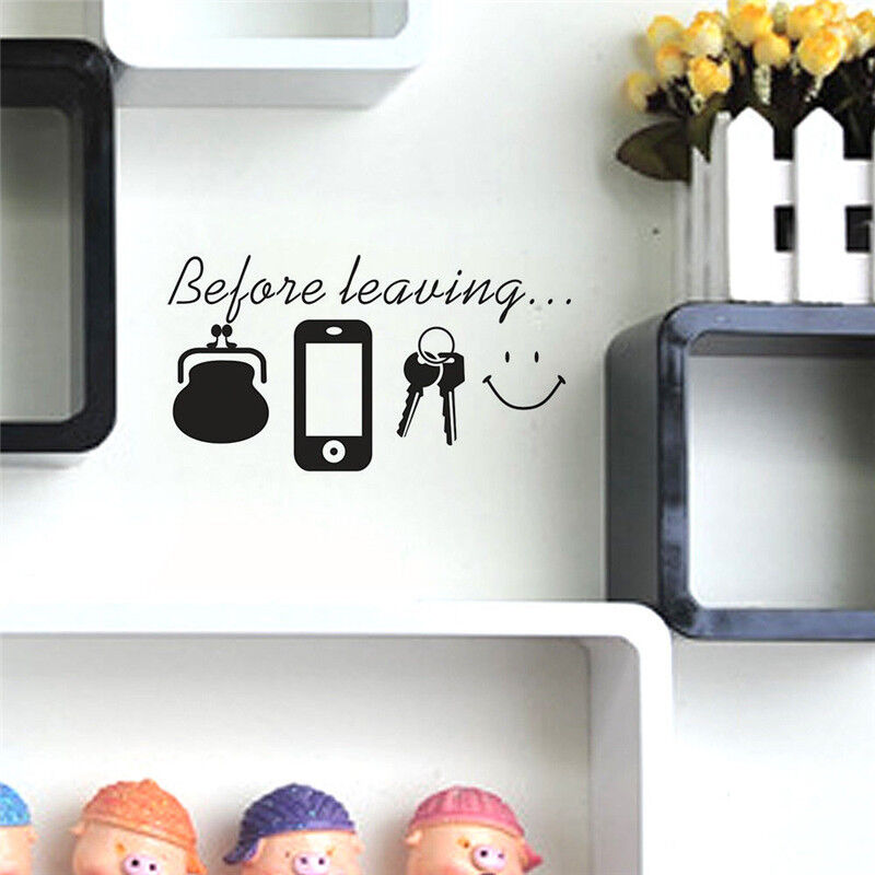Funny family letter home wall stickers decor removable for Funny home decor