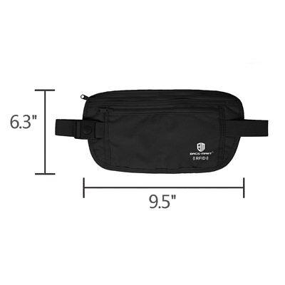 RFID Travel Waist Bum Bag Anti Theft Pouch Belt Passport Holder Safe Strap Sport 8