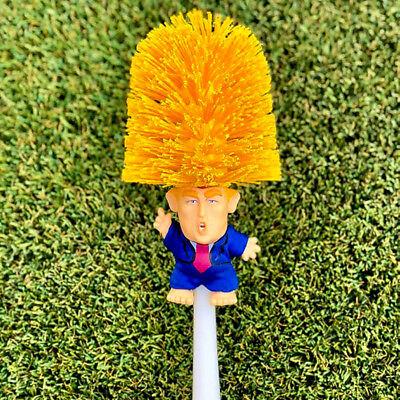 US Donald Trump hand made Toilet Bowl Brush Funny Gag Gift Christmas Xmas KY 2