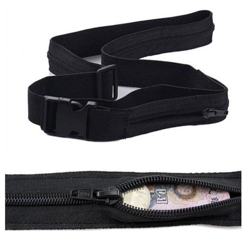 Secret Travel Waist Money Belt Hidden Security Safe Pouch Ticket Bag 2