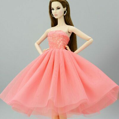 Fashion Summer Dress For 11.5in Doll Short Ballet Dresses For 1/6 Doll Clothes 9
