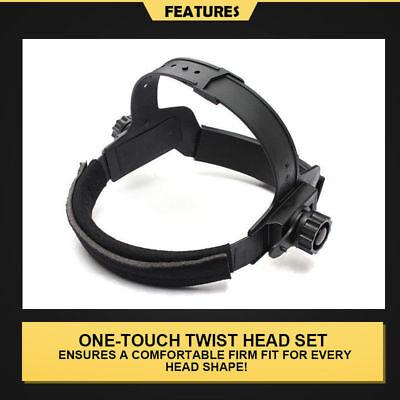 Pro Solar Auto Darkening Welding Helmet Arc Tig Skull Mask 9