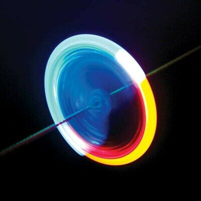 Tobar LIGHT SPINNER Flash LED Light Up Hand Finger Pull String Fidget 17924 UK