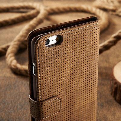 Samsung Galaxy S8 Hülle Handytasche Flip Case Handyhülle Schwarz, Braun, Rot