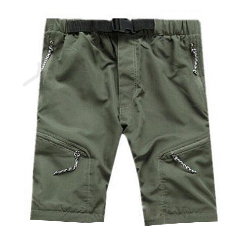 Men Tactical Trousers Waterproof Hiking Climbing Sport Combat Cargo Work Pants 12