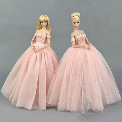 """Doll Dress Costume Elegant Lady Wedding Dress For 11.5"""" Doll Clothes Outfits Toy 11"""