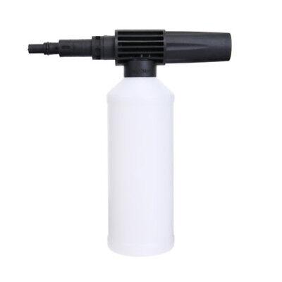 Adjust Snow Foam Lance Cannon Pressure Washer Gun Car Foamer Wash Bottle 450ML 8