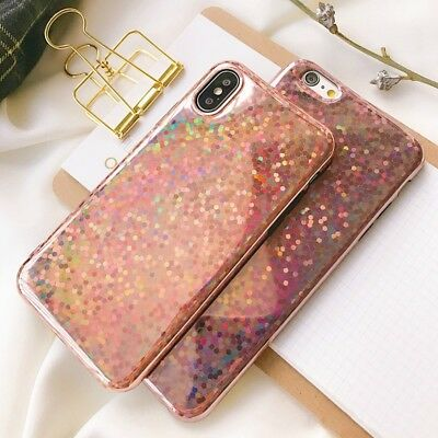 Bling Glitter Sparkle Reflective Case Cute Phone Cover For iPhone Xs Max XR X