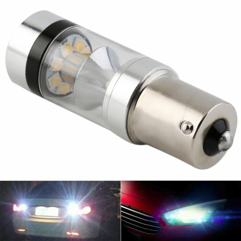 12V-24V CREE XBD 100W 1156 S25 P21W BA15S LED Backup Light Car Reverse Bulb Lamp