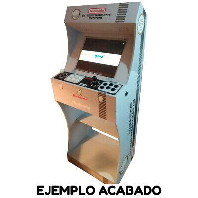 """Kit Mueble Bartop Light Arcade Recreativa Con Pedestal Max 25"""" De Pantalla 9"""