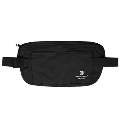 RFID Travel Waist Bum Bag Anti Theft Pouch Belt Passport Holder Safe Strap Sport 9