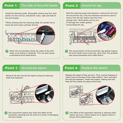 "100pcs 5"" Foam Cleaning Swabs for Mimaki Printer Camera Electronics Keyboard 8"