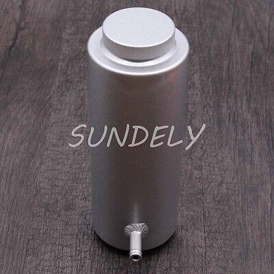 800ml Silver Overflow Catch Tank Radiator Coolant Expansion Tank Bottle Header 5