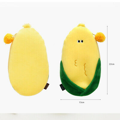 Funny Vegetables Soft Plush Type Pencil case Pen Bag Stationery Tavel Organizer 8