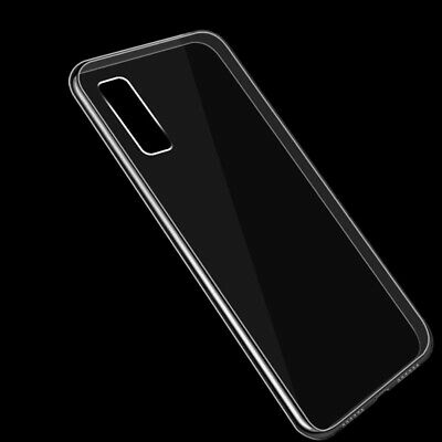 For Samsung Galaxy A70 A50 A40 Crystal Clear Slim Soft Silicone Phone Case Cover 6