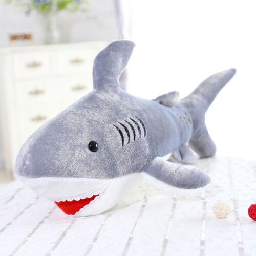 1pc Large Shark Plush Toys Kids Stuffed Animal Toy Doll 45cm Soft