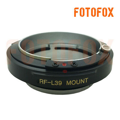 FOTOFOX RF-L39 Contax Rangefinder CRF RF Lens to Leica Mount SM M39 L39 Adapter 2