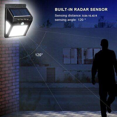 40 LED Solar Power PIR Motion Sensor Light Waterproof Outdoor Security Wall Lamp 2