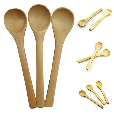 6 PCS Set Hot Bamboo Ustensile Cuisine En Bois De Cuisine Outils Cuillère SpaLTA 2