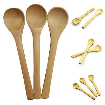6x petit bambou cuillère en bois dessert crème glacée miel enfants   I