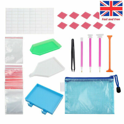 70x Multi 5D Diamond Painting Tool Embroidery Kit Art Painting Accessories UK 2