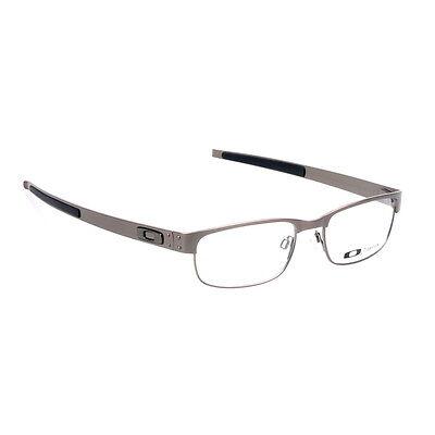 484364e8b17 ... Eyeglass Frames-Oakley METAL PLATE 22-199 Brushed Chrome 53mm Titanium  Glasses 6