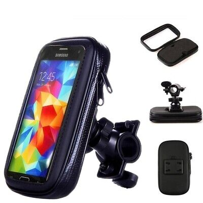 360° Bicycle Motor Bike Waterproof Phone Case Mount Holder For All Mobile Phones 3
