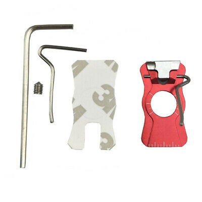 1pc Archery Arrow Rest Magnetic Recurve Bow Right Left Hand Stick To Bow Riser 4